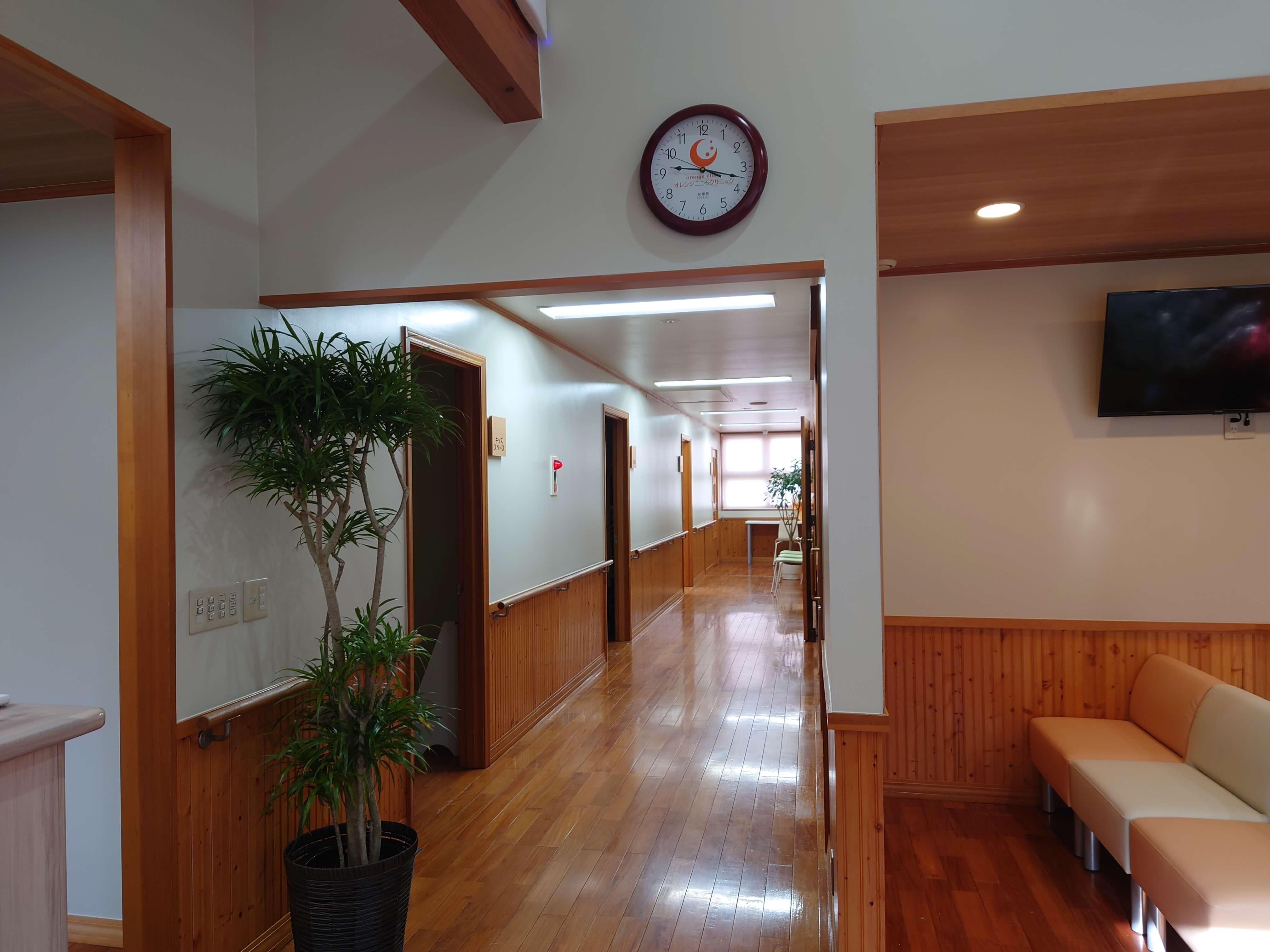 待合室・廊下